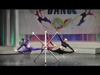 акробатическое трио Грация
