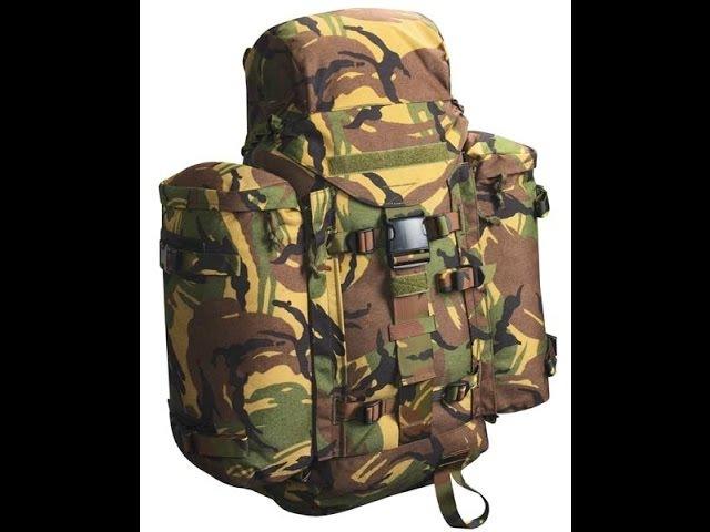 Обзор рюкзака Lowe Alpine, 40 литров, армии Нидерландов