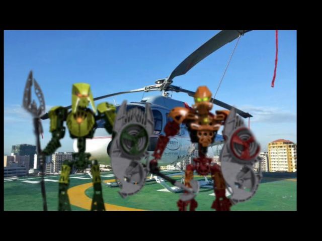 Bionicle film:Новогодний беспредел Тизер Трейлер