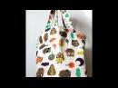 Пляжная сумка сумка пакет мастер класс DIY