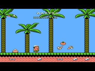 Hudson Adventure Island 2 NES - Прохождение (Остров приключений 2 Dendy, Денди - Walkthrough)