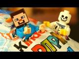 ЛЕГО НУБик и Kinder Surprise MAXI Майнкрафт Мультики для Детей LEGO Minecraft Мультфильмы