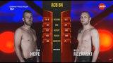 Maciej Rozanski vs. Dan Hope