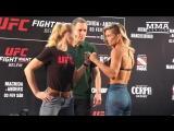 #UFCBelem  Valentina Shevchenko vs Priscila Cachoeira | Дуэль взглядов