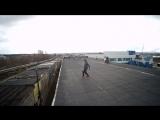 Прыжок вееееры (прыгнул с крыши), я это СДЕЛАЛ!!!