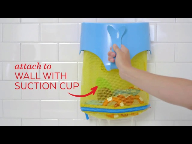 Skip Hop Moby Scoop Splash Bath Toy Organizer