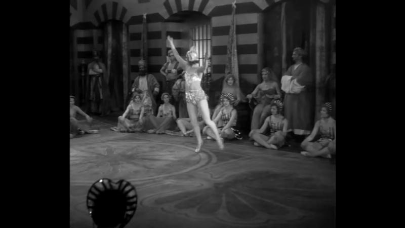 German Actress, Marika Rokk, Dances In Her 2nd Motion Picture (1930)
