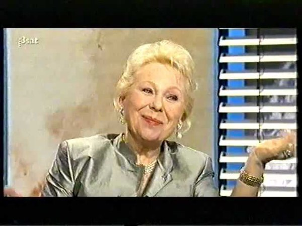 Renata Scotto - Da Capo - Interview with August Everding, 1998