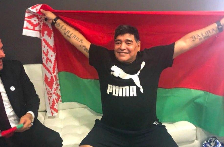 Марадона получил высокую должность в Белоруссии
