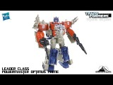 Transformers Titans Return Leader Class POWERMASTER OPTIMUS PRIME Video Review