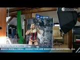Bravo Models Media - Prague - photo shoots backstages - porn model FLORANE RUSSEL - 07