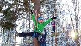 Презентационный ролик - верёвочный парк в горнолыжном центре