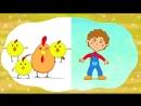 СБОРНИК 2 - ЕДЕТ ТРАКТОР 50 минут 8 развивающих песенок мультиков для детей про трактора и машинки.mp4