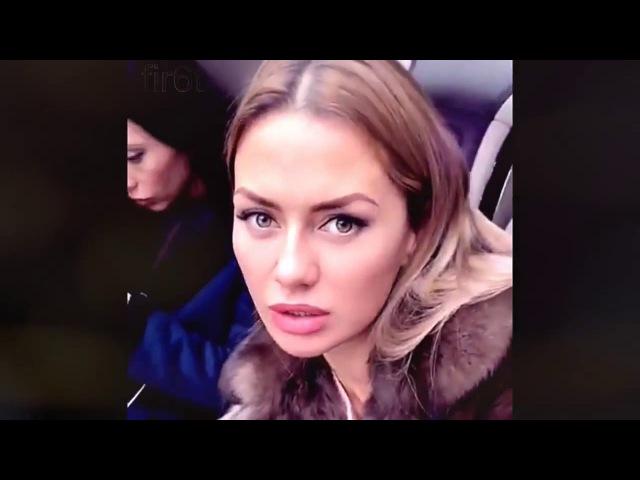 Боня Виктория Bonya в Москве с подругой