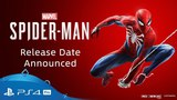 Marvel's Spider-Man | Release Date Announcement Trailer | PS4
