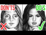 DOS & DONTS: How To Draw a Face |  Realistic Drawing Tutorial Step by Step