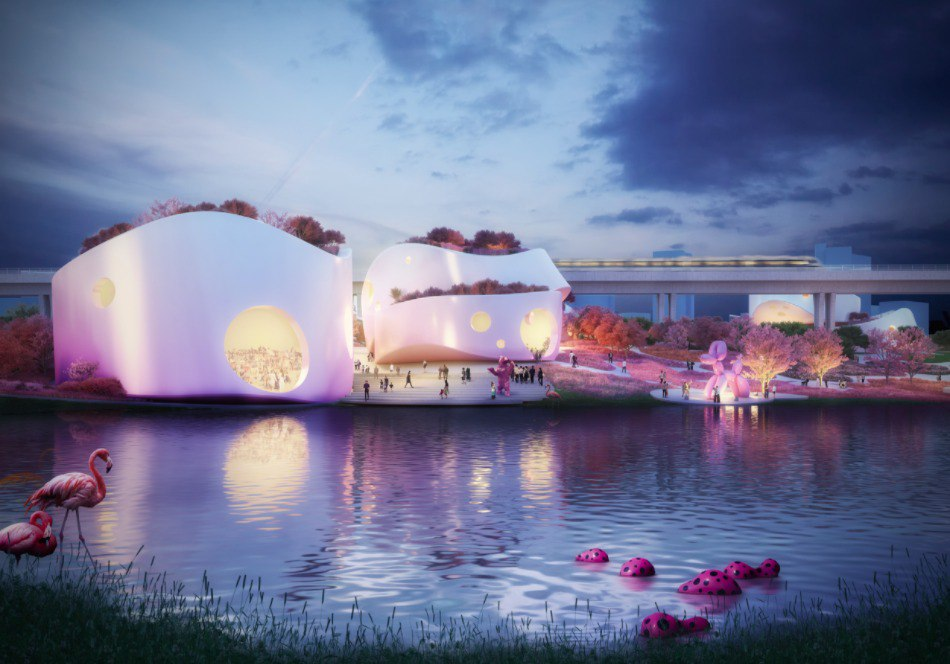 MVRDV Releases Alternative Proposal for Taoyuan Museum of Art