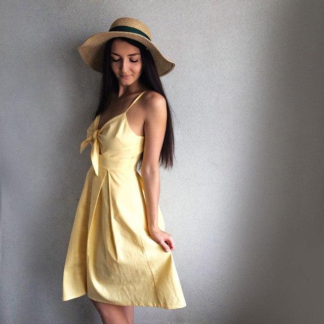 Платье на лето из хлопка