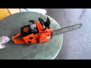 Wankel rotary engine chainsaw