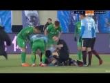 Гайтан потерял сознание во время матча