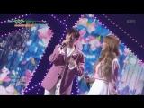 180413 Wendy (Red Velvet) & Eric Nam - Spring Love @ Music Bank