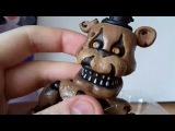Обзор #1 Кошмарный Фредди шарнирная фигурка от Фанко Nightmare Freddy articulated Funko figure
