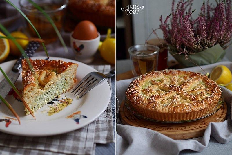 Сырный пасхальный пирог Fiodone