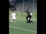 Будущая звезда футбола