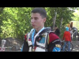 10.09.2017, гонка юношей, 1 место Мишин Данил