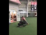 Кайл Снайдер (чемпион мира и Олимпиады по вольной борьбе) и 771кг.