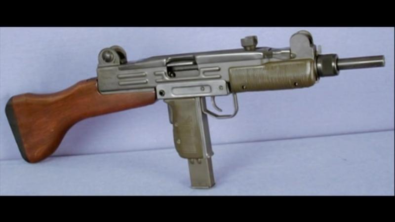 Пистолет пулемёт Узи the submachine gun Uzi IMI Израиль
