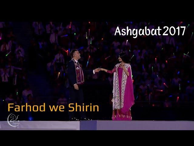 Ashgabat 2017 Ýapylyş Dabarasy | Farhod we Shirin