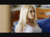 Dozens of naked machines lined up in explicit sex robots trailer
