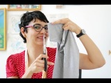 Refaça Você Mesmo - Como cortar a manga da camiseta (ou a perna da calça)