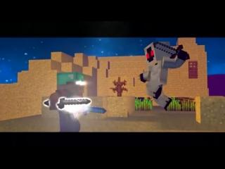 [v-s.mobi]ХЕРОБРИН VS ENTITY 303 - Майнкрафт Клип (На Русском) Herobrine Life Minecraft Parody S