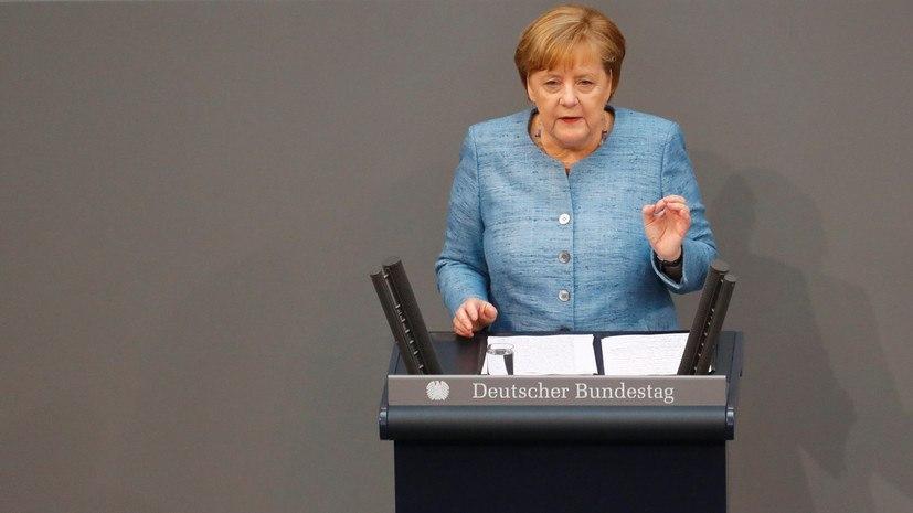 Меркель сделала заявление о конфликте в Донбассе