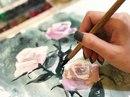Розы-розы в процессе… А вам интересны фотографии в работе, а не готовые…