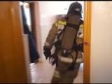 Пожар в пожарной части. Условный