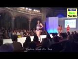 Fashion Week Plus Size 2017 _ Plus Size Woman Walks in Bikini _ Fashion show