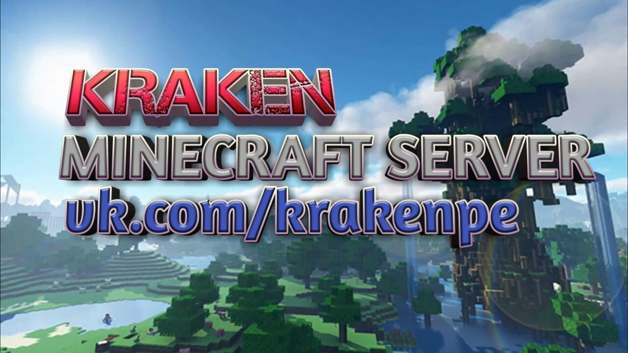 КRAKEN - это новый сервер для выживания!