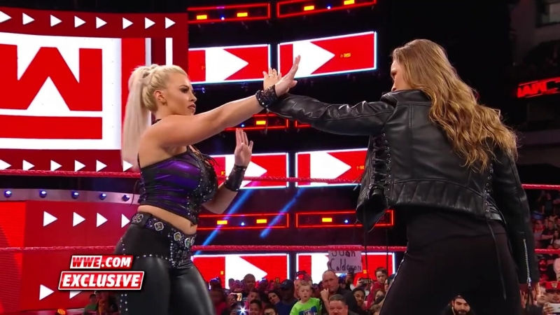 Ronda Rousey makes short work of Dana Brooke_ Raw Exclusive, March 19, 2018
