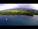 Залив Астролябия, вид на берег Маклая (Папуа-Новая Гвинея)