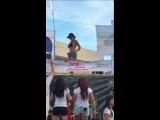 Chica bailando sexy en altata