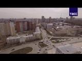 Екатеринбург Арена- вид сверху