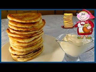 Быстрые СЫРНЫЕ /творожные/ ПЫШКИ /лепешки/. Рецепт вкуснейшего завтрака!