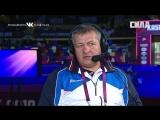 Интервью с Абдулманапом Нурмагомедовым на ЧЕ по борьбе