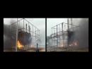 Полномасштабные огневые испытания АУГП МИЖУ на «Мосэнерго» ТЭЦ-27 2012г. Газовое
