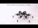 Snapbot удивительный шестиногий робот от Disney