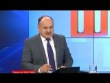 """Вице-председатель """"Нашей Партии"""" Дмитрий Чубашенко в программе """"Пятница"""" с Анатолием Голя."""