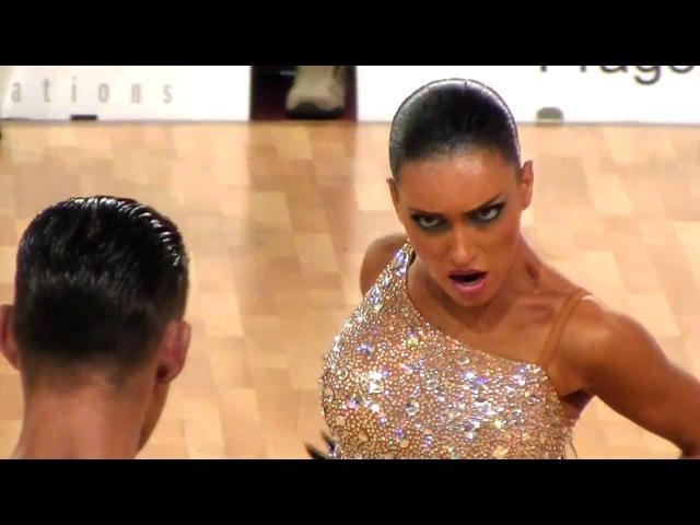 Timur Imametdinov - Ekaterina Nikolaeva, Prague Open 2012, WDSF WO latin, final - paso doble